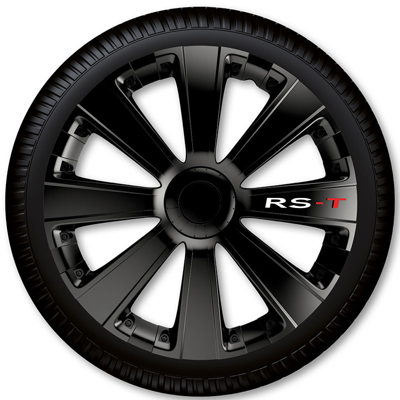 Poklice na kola Racing4 RS-T Black 15""