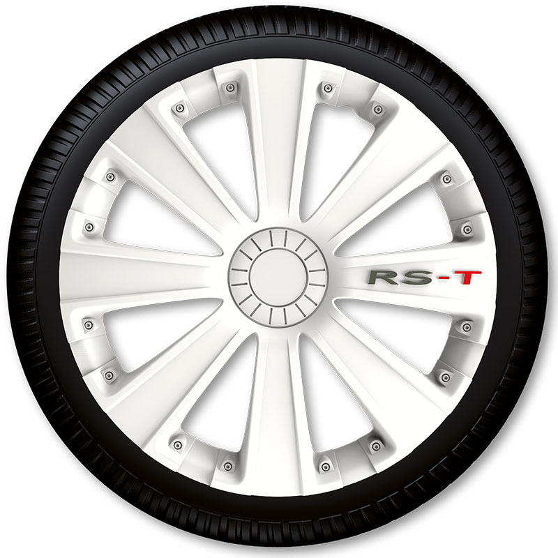 Poklice na kola Racing4 RS-T White 13""