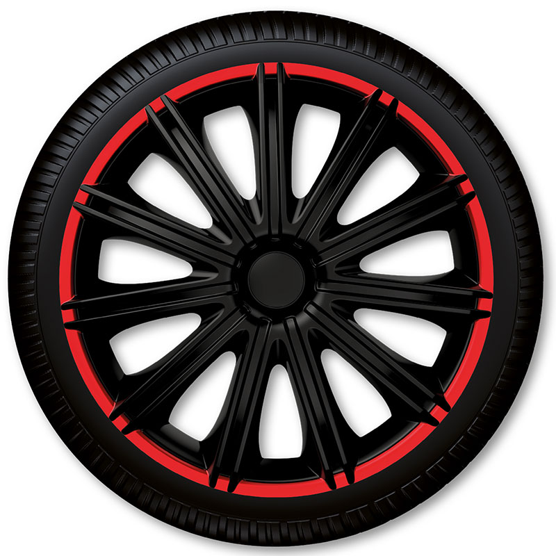 Poklice na kola Racing4 Nero R Black 14""